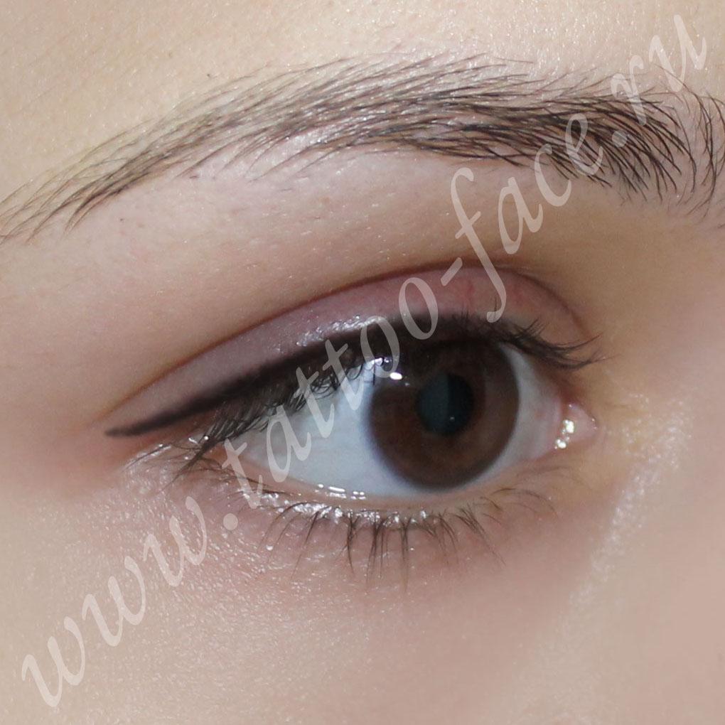 Татуаж глаз предотвращает ранние